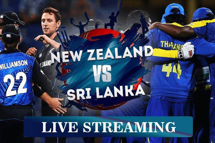 New Zealand-vs-Sri Lanka Live Streaming