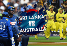 SRI-LANKA-vs-AUSTRALIA - Cricket World Cup 2019