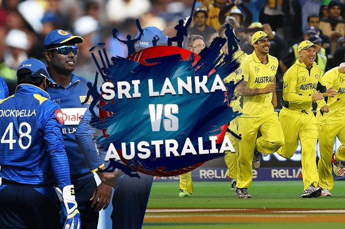 SRI-LANKA-vs-AUSTRALIA - Cricket World Cup 2019