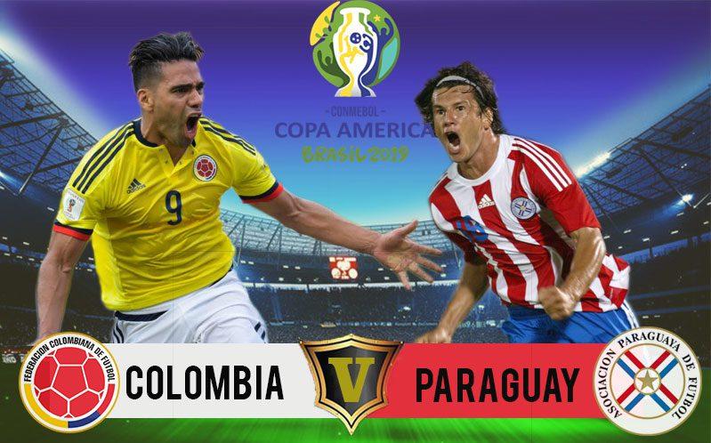 COLOMBIA Vs PARAGUAY- Copa America 2019