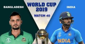 Live Cricket Score India vs Bangladesh