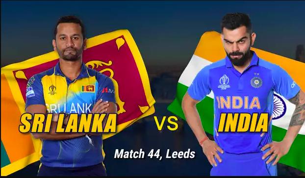 Ind vs SL live