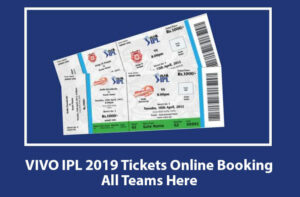 IPL 2020 Online Ticket Booking